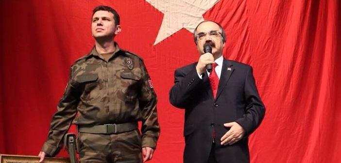 Gazi Polis Memuru Mustafa Bozkurt'a Devlet Övünç Madalyası Verildi