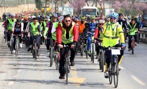 Pedallar Yeşilay için dönüyor
