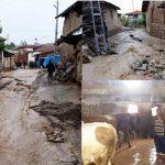 Amasya'da sağanak yağış sele neden oldu