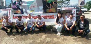 SMA hastası ailelerinin Ankara'da eylemi devam ediyor