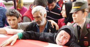 Şehit Jandarma Uzman Çavuş Yakup Yılmaz, son yolculuğuna uğurlandı