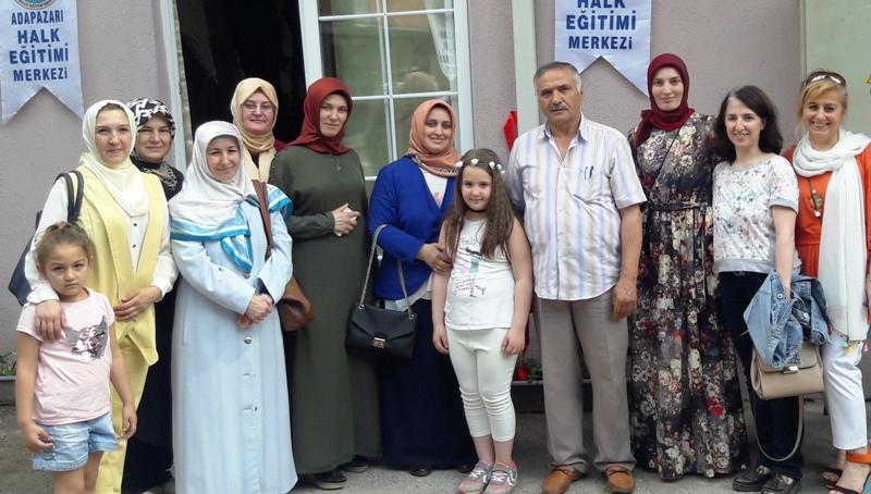 Hasırcılar Mahallesinde Biçki Dikiş  ve Mefruşat  Sergisi Açıldı
