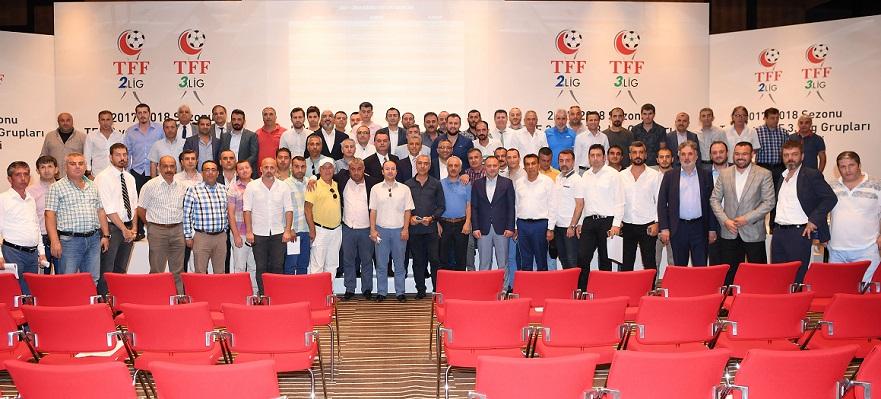 TFF 2 ve 3. Lig'de gruplar belirlendi