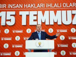 """Cumhurbaşkanı Erdoğan"""" Terörle mücadelede hedefe ulaştığımız zaman OHAL'i kaldıracağız"""""""