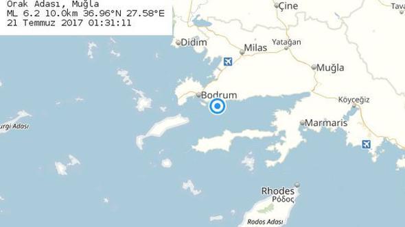 Gökova Körfezinde  6.5  lik  deprem  Ege'yi   Sokağa  döktü