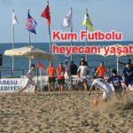 Karasu'da Kum Plaj Futbolu'nda Yalıspor şampiyon oldu..