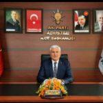 Mustafa Ak yeni yıl dolayısı ile kutlama mesajı yayınladı.