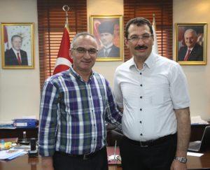 Milletvekili Yavuz'dan Başkan Yılmazer' Ziyaret