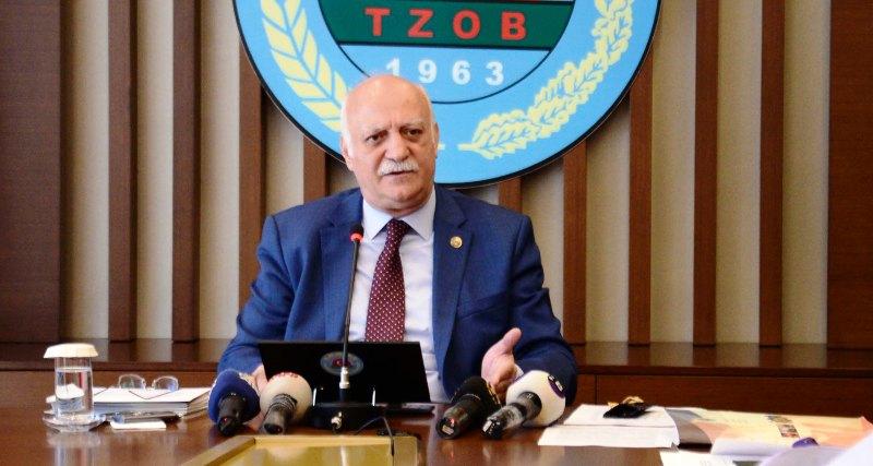 TZOB Genel Başkanı Bayraktar-ÇKS kaydı için son gün 30 Haziran 2018
