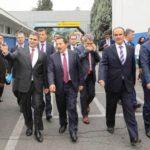 Vali Balkanlıoğlu Fabrikalara Ziyarette Bulundu…