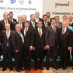 TÜRKONFED 21. Girişim ve İş Dünyası Zirvesi Ankara'da Düzenlendi