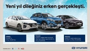 """""""Hyundai Ferhat otomotivde Sıfır Faiz Kampanyası"""" Son Sürat Devam Ediyor."""