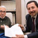 Vali Balkanlıoğlu'ndan Yaşlılarımız ve Gazimize Ziyaret