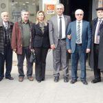 Demokrat Parti Sakarya İl Başkanıİsmail ErgülErdoğan Isır'ı tebrik etti