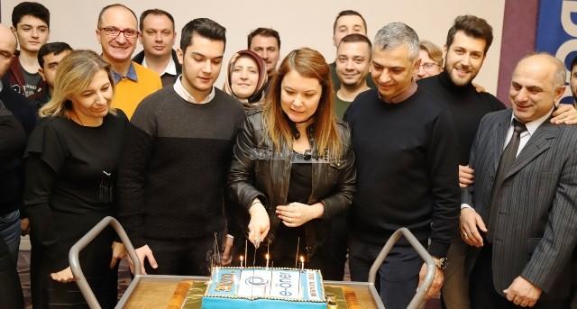 Erdoğan Öner; kuruluşunun 30.  yılını çalışanlarıyla beraber kutladı