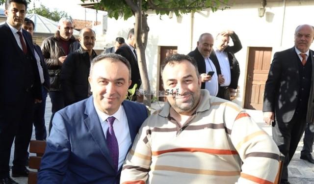 Recep Soytürk;   Milli İrade Derneği'ne  misafirperverlik yaptı