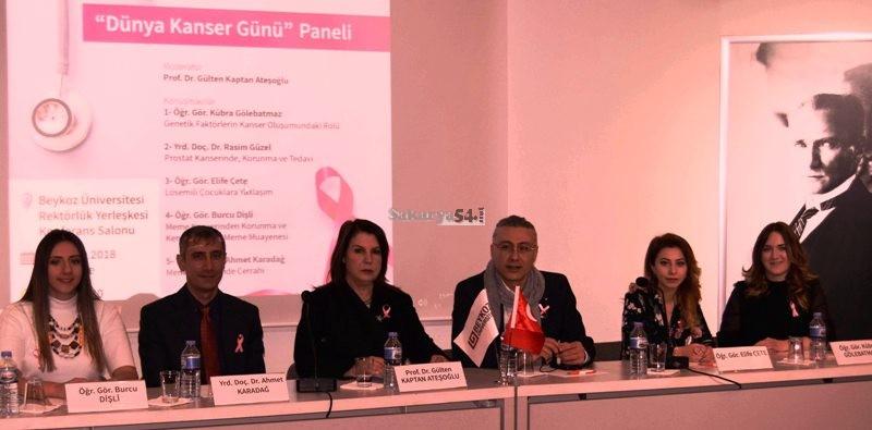 Beykoz Üniversitesi Dünya Kanser Günü Paneli düzenledi