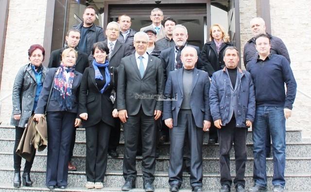 CHP'den İnşaat Mühendislerine Ziyaret-Sakarya Muhtarlar federasyonu Ziyaret