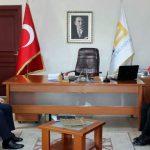 Sakarya İl AFAD Müdürü Hüseyin Kaşkaş'ın Başkanı ziyareti..