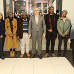 """""""Ticarette Kültür Elçilerimiz""""Afrikalı Öğrencilerden Satso'ya Ziyaret"""