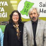 Gürsel YILDIZ Sakarya Medya Derneğini ziyaret etti.