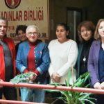 Sibel Özkal Yönetim Kurulu üyeleri ile TKB Sakarya Şubesini ziyaret etti