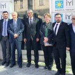 CHP heyetinden STK ve siyasi parti başkanlarına ziyaret