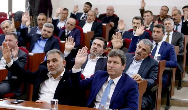 """Başkan Toçoğlu  """"Şehrimize yatırım için kredi kullanıyoruz"""""""