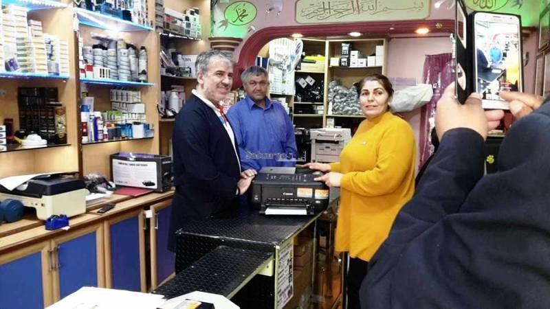 Türkiye Sakatlar Derneği'ne Zirve Bilgisayar'dan Yazıcı  Bağışı
