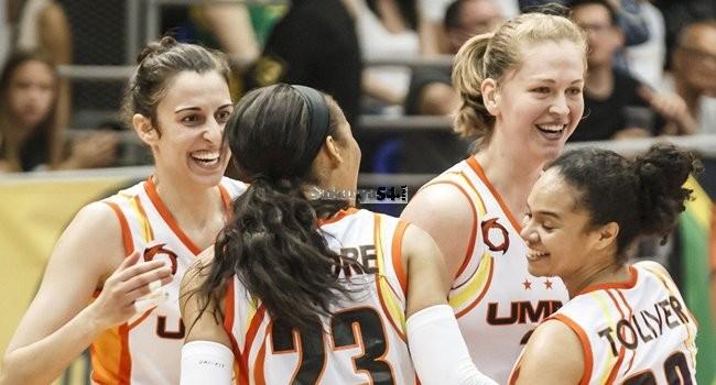 Kadınlar Avrupa Ligi'nde şampiyon Ekaterinburg oldu