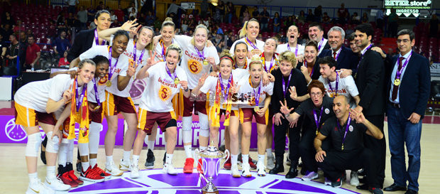 EuroCup Women Şampiyonu Galatasaray!