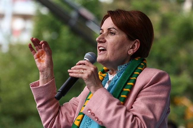 İYİ Parti lideri Meral Akşener, Adıyaman'da vatandaşlara hitap etti.