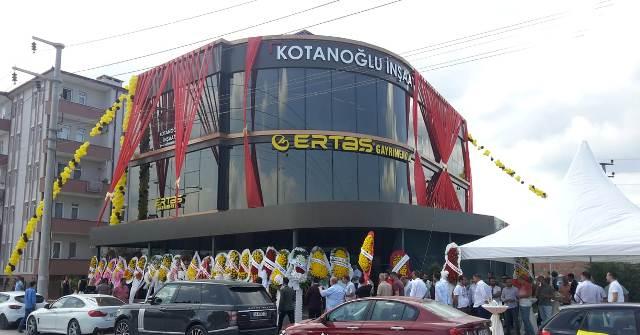 ERTAŞ Gayrimenkul Yeni Ofisini  Açtı