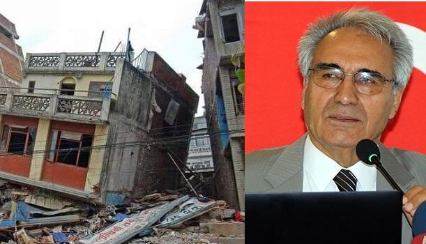 """İMO Genel Başkanı Cemal Gökçe """"Deprem her zaman var"""""""