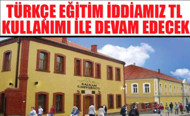 Kosova dolara karşı TL'yi seçti