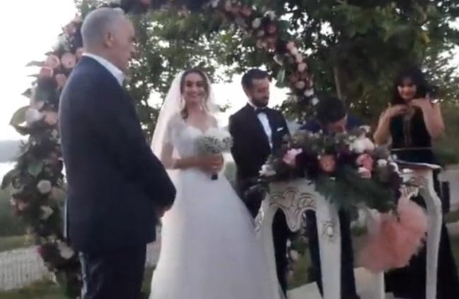 Seda Erbayve İlker EKER Muhteşem düğün töreni ile evlendi