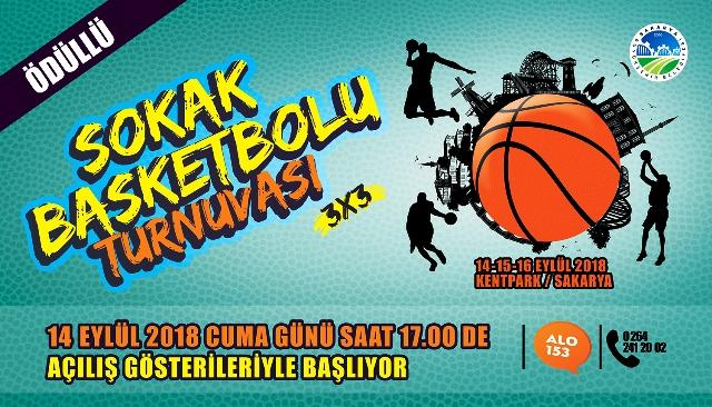 Ödüllü 'Sokak Basketbolu Turnuvası' başlıyor