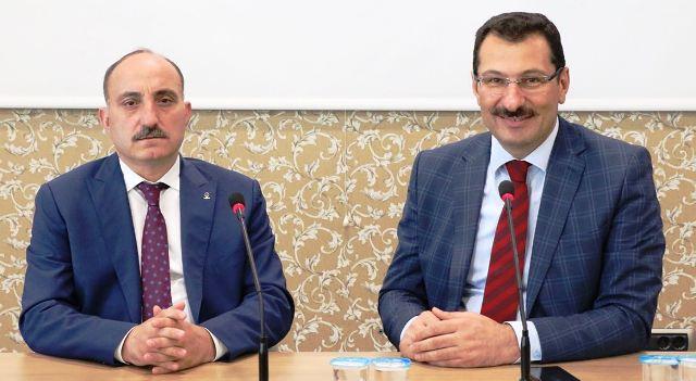 AK Parti Sakarya İl Başkanlığı heyeti Ankara'da bir dizi temaslarda bulundu.