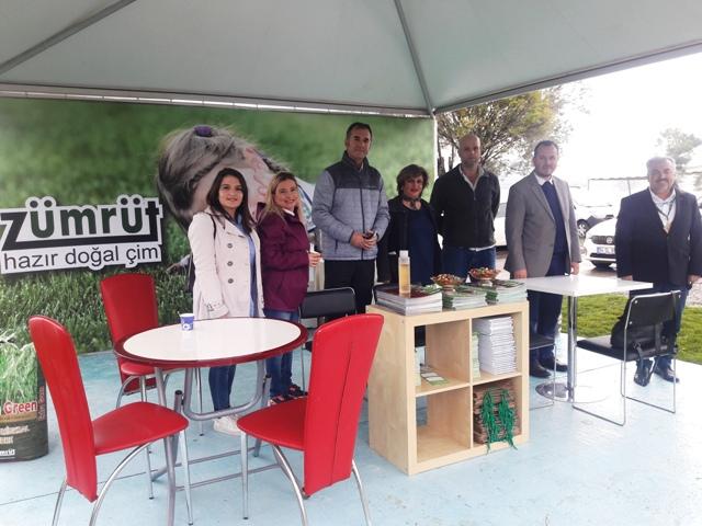 Zümrüt Hazır Doğal Çim  Sakarya Peyzaj ve Süs Bitkiciliği Festivalinde