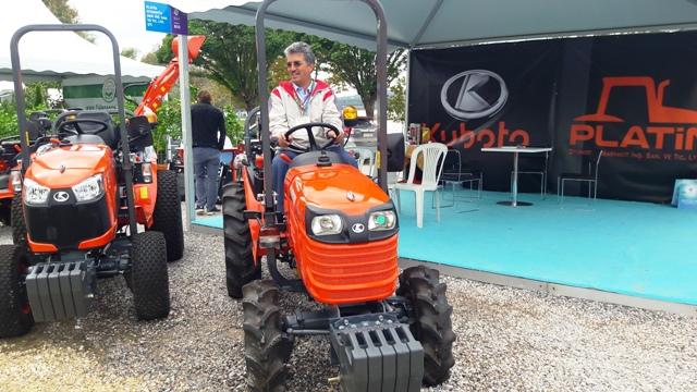 Kubota Traktör Platin Otomotiv'de Sakarya Peyzaj ve Süs Bitkiciliği Festivalinde