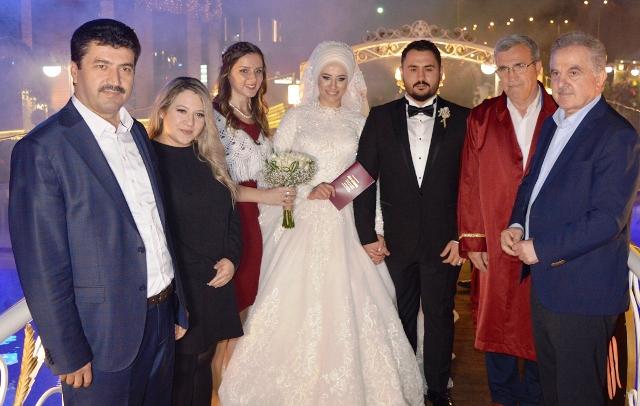 Fakülte aşkı; düğünle taçlandı