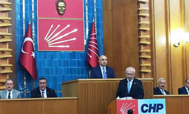 """CHP Genel Başkanı Kemal Kılıçdaroğlu""""Türkiye sahipsiz bir devlet değildir"""""""