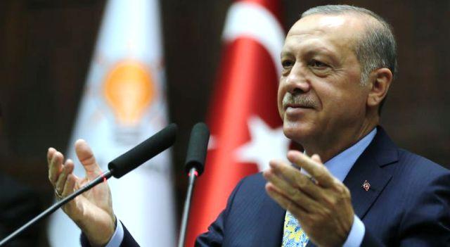 """Cumhurbaşkanı Recep Tayyip Erdoğan,""""Milletimize hizmet ettikçe gücümüz artıyor,enerjimiz çoğalıyor"""""""