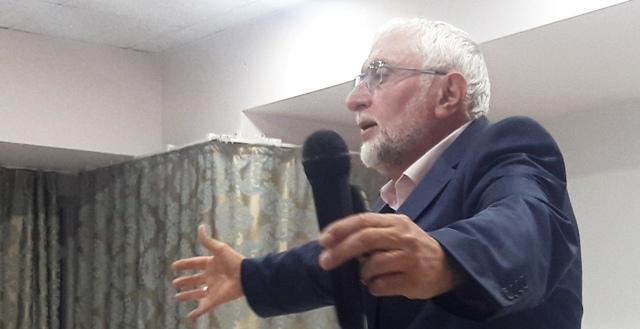 Din-Bir-Der Genel Başkanı Muhittin Hamdi Yıldırım'ın İslam ve Siyaset Konulu Konferansına büyük katılım oldu
