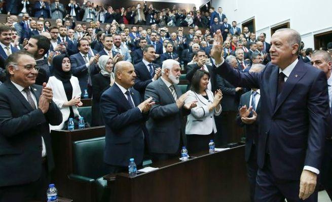 """AK Parti Genel Başkanı Recep TayyipErdoğan""""HEPSİNİ TEPELEDİK, TEPELİYORUZ"""""""