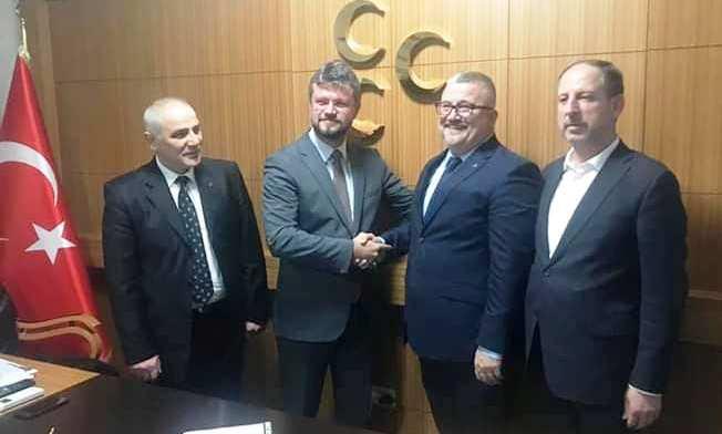 Dr. Hasan Balaban, Serdivan Belediye Başkan Aday Adaylığı başvurusunda bulundu.