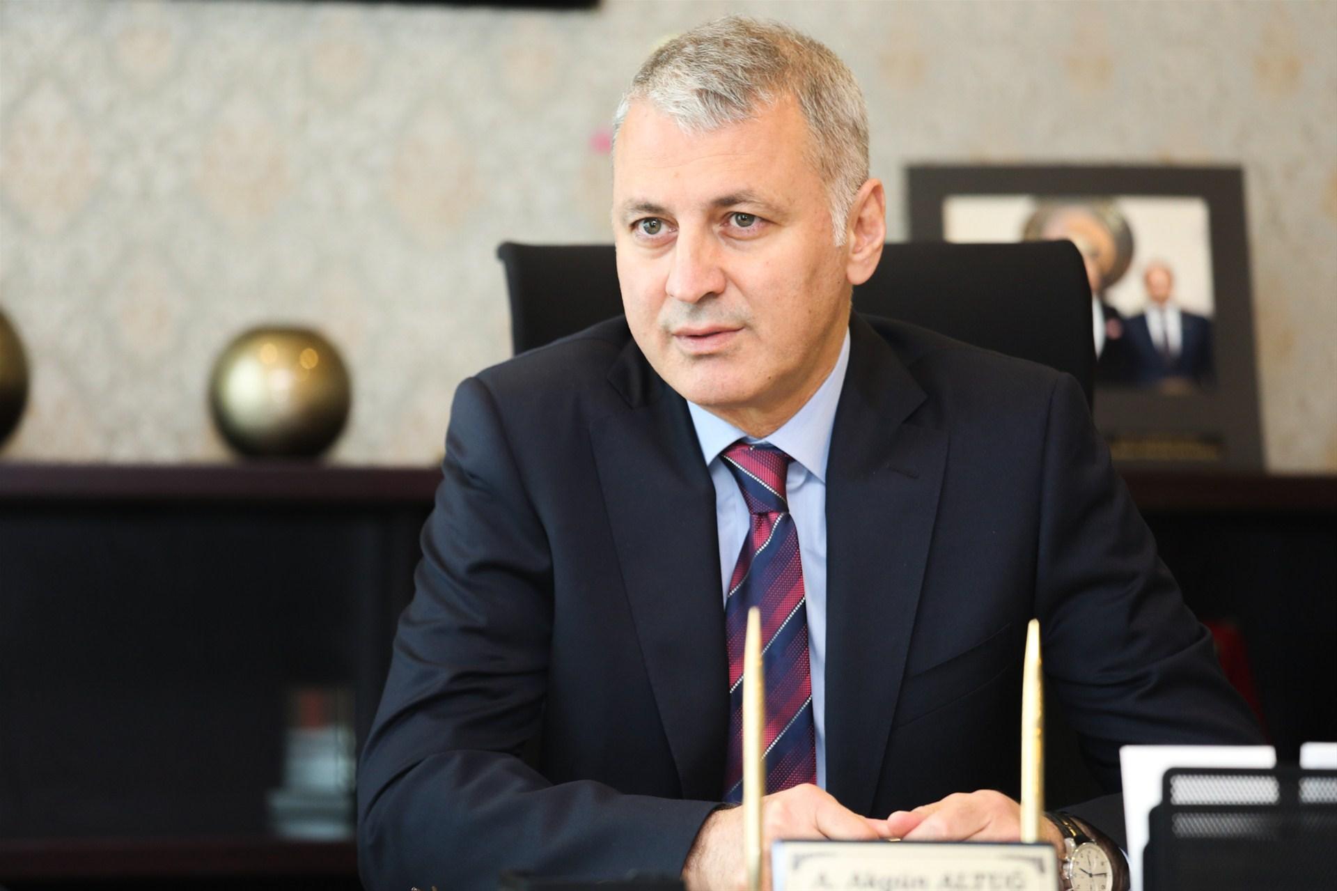 Başkan Altuğ'dan Ramazan Bayramı Mesajı
