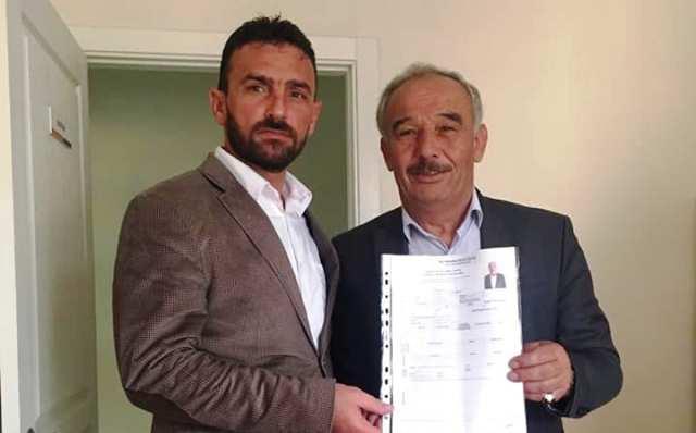 Süleyman Can, Erenler Belediye Meclis Üyeliği için başvurusunu gerçekleştirdi