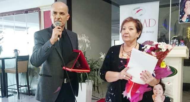 SAYŞAD  derneği Tülay Mutlu'yu konuşmacı olarak ağırladı