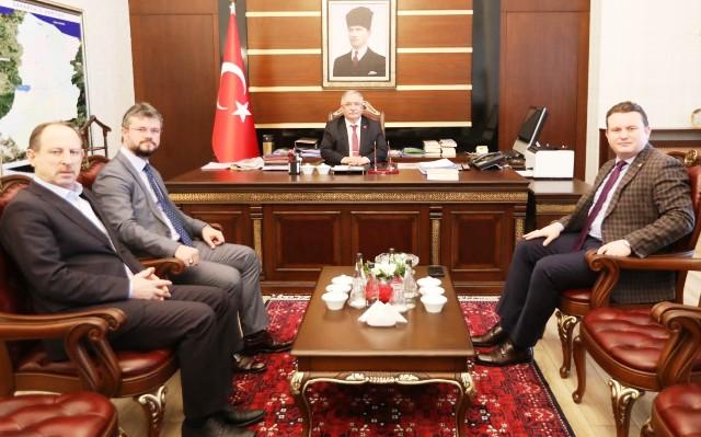 Milletvekili Bülbül'den Vali Nayir'e Ziyaret